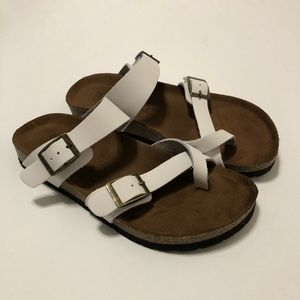 White Mountain FootBeds Sandals Size 6
